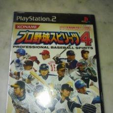 Videojuegos y Consolas: PROFESIONAL BASEBALL SPIRITS. PLAYSTATION 2 . JAPONÉS PRECINTADO. Lote 228553225