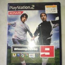 Videojuegos y Consolas: WINNING ELEVEN 9. PLAYSTATION 2 . JAPONÉS. Lote 228553630