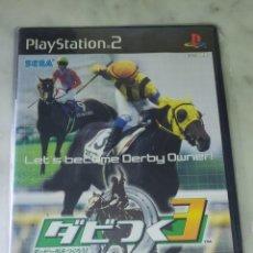 Videojuegos y Consolas: LET'S BECOME DERBY OWNER. PLAYSTATION 2 . JAPONÉS. PRECINTADO. Lote 228555258