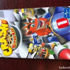 Videojuegos y Consolas: MANUAL PS2 CRASH NITRO KART. Lote 230381315