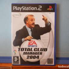 Videojuegos y Consolas: TOTAL CLUB MANAGER 2004. EA SPORTS. PS2. PLAYSTATION. CD.. Lote 231158930