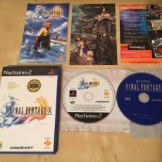 Videojuegos y Consolas: FINAL FANTASY X - PAL ESPAÑA - COMPLETO - EN MUY BUEN ESTADO. Lote 231518400
