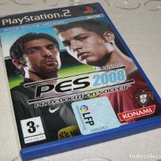 Videojuegos y Consolas: VIDEOJUEGO PS2 PLAYSTATION 2 PRO EVOLUTION SOCCER 2008 PES. Lote 232345570