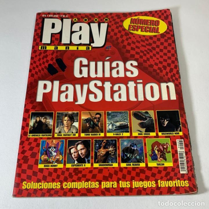 REVISTA PLAY MANIA - NÚMERO ESPECIAL - GUÍAS PLAYSTATION (Juguetes - Videojuegos y Consolas - Sony - PS2)