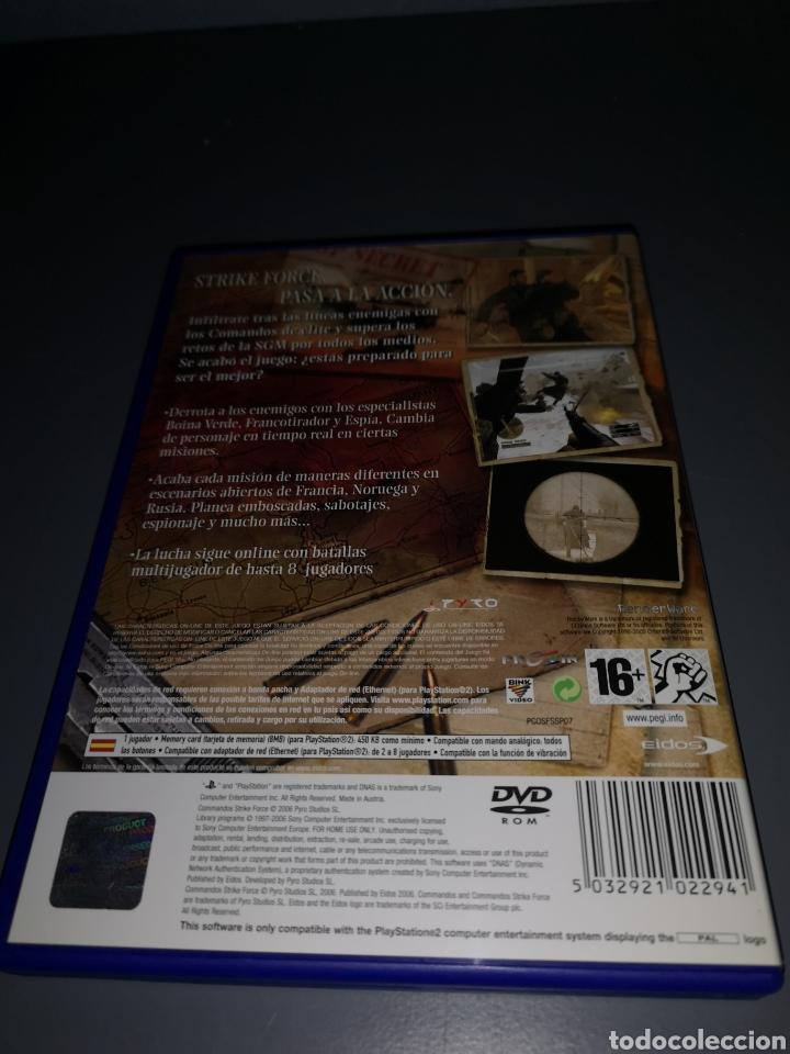 Videojuegos y Consolas: AD4. JUEGO PLAYSTATION 2. COMANDOS STRIKE FORCE - Foto 2 - 233203030