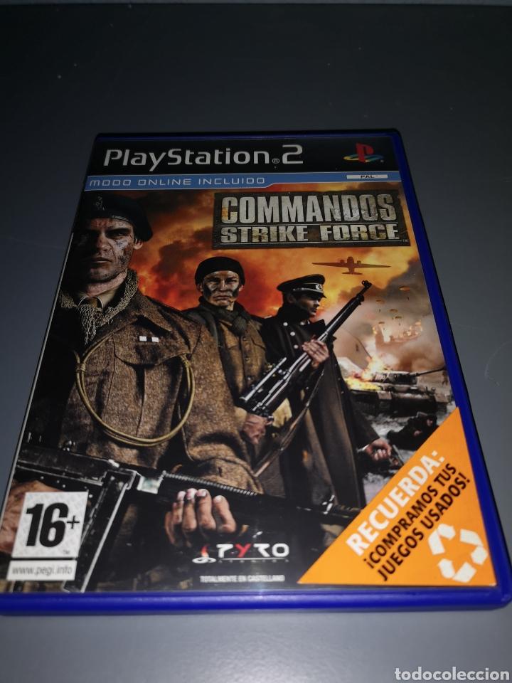 AD4. JUEGO PLAYSTATION 2. COMANDOS STRIKE FORCE (Juguetes - Videojuegos y Consolas - Sony - PS2)