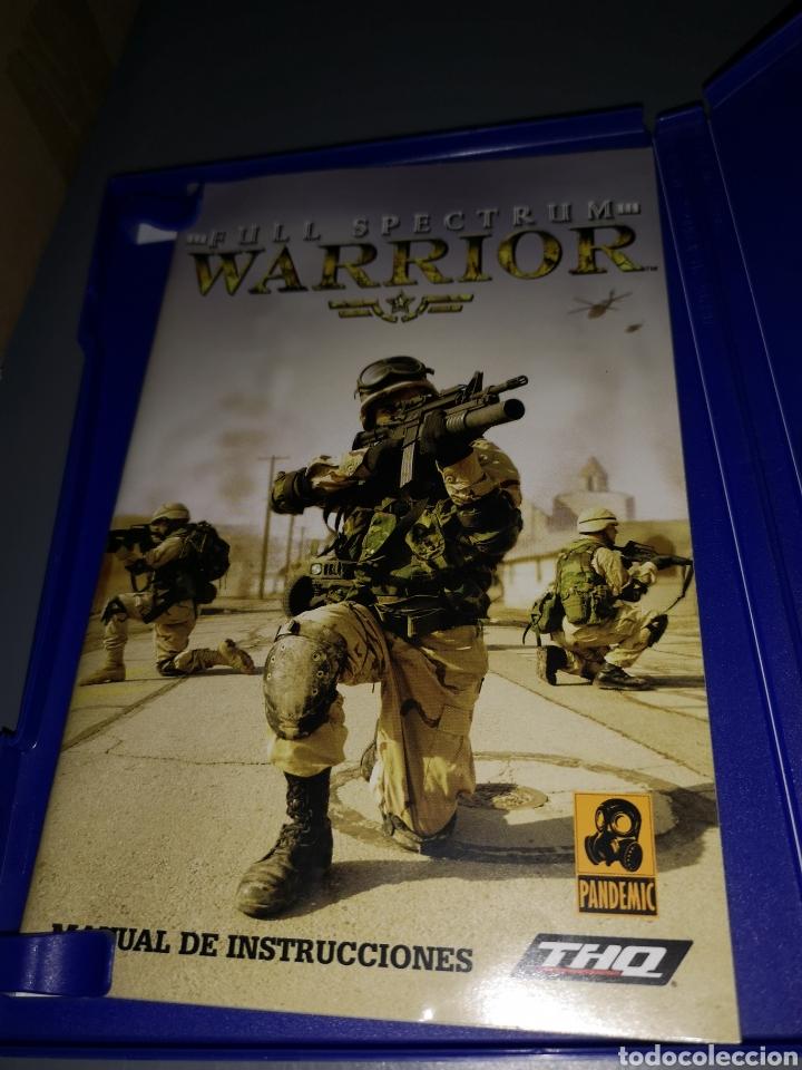 Videojuegos y Consolas: AD4. JUEGO PLAYSTATION 2. FULL SPECTRUM WARRIOR - Foto 3 - 233203790
