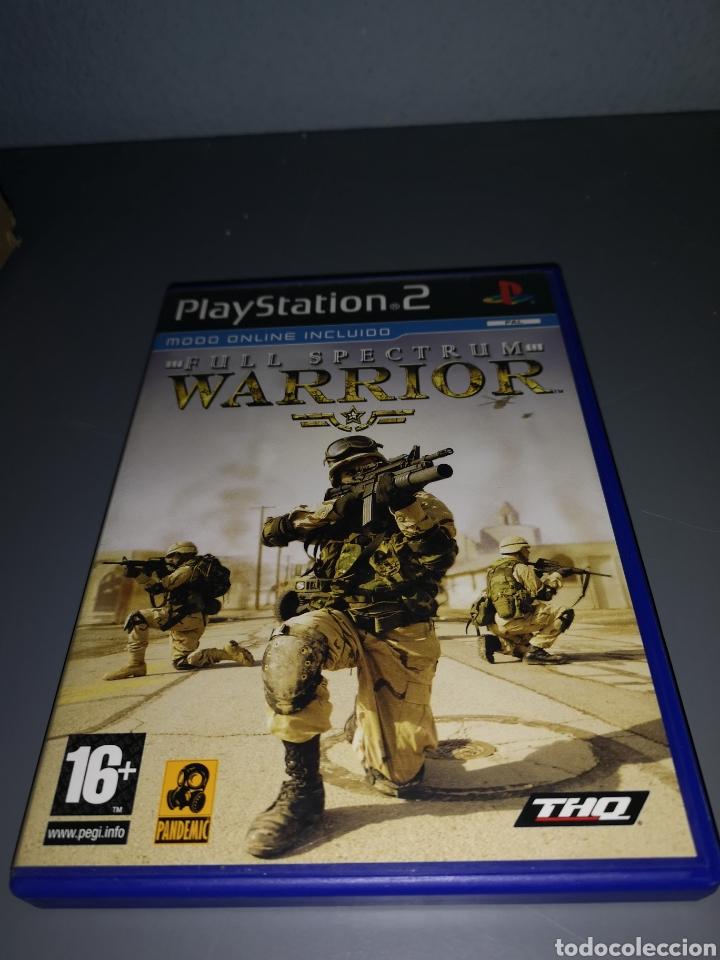 AD4. JUEGO PLAYSTATION 2. FULL SPECTRUM WARRIOR (Juguetes - Videojuegos y Consolas - Sony - PS2)