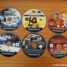 Jeux Vidéo et Consoles: LOTE 12 DISCOS PS2. NO FUNCIONAN: DRAGON BALL, DEADLY STRIKE, BURNOUT, TORTUGAS NINJA.... Lote 233409325
