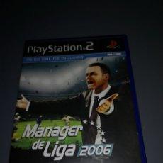 Videojuegos y Consolas: AD4. JUEGO PLAYSTATION 2. MANAGER DE LIGA 2006. Lote 233488880