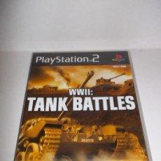 Videogiochi e Consoli: PS2 WWII TANK BATTLES PAL PLAYSTATION 2. Lote 233702490