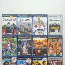 Videojogos e Consolas: LOTE DE 12 JUEGOS ORIGINALES. Lote 234018165