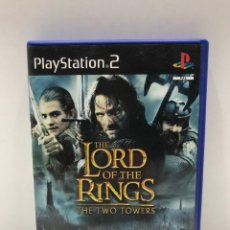 Videojuegos y Consolas: THE LORD OF THE RINGS - THE TWO TOWERS - PLAYSTATION 2 - EA GAMES. Lote 234172175