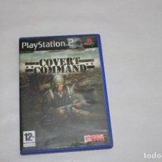 Videojuegos y Consolas: COVERT COMMAND PAL ESPAÑA. Lote 234341760