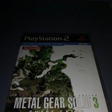 Videojuegos y Consolas: AD4. JUEGO PLAYSTATION 2. METAL GEAR SOLID 3.. Lote 234459705