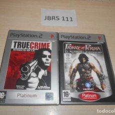 Videojuegos y Consolas: TRUE CRIME STREET OF LA + PRINCE OF PRESIA - EL ALMA DEL GUERRERO. Lote 234573645