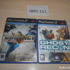 Videojuegos y Consolas: CONFLICT GLOBAL STROM + GHOST RECON ADVANCED WARFIGTHER. Lote 234573740