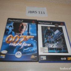 Videojuegos y Consolas: 007 NIGHTFIRE + OPERATION WINBACK. Lote 234573875