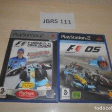 Videojuegos y Consolas: FORMULA ONE 2003 + FORMULA ONE 2005. Lote 234574045