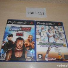 Videojuegos y Consolas: SMACKDOWN VS RAW 2008 + SMASH COURT TENNIS PRO TOURNAMENT 2. Lote 234574365