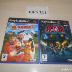 Videojuegos y Consolas: EL CORRAL + MONSTER HOUSE. Lote 234574670