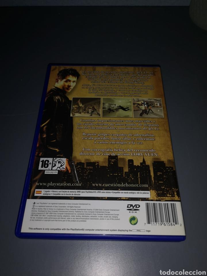 Videojuegos y Consolas: XA4. JUEGO PLAYSTATION 2. CUESTION DE HONOR. JET LI - Foto 2 - 234812085