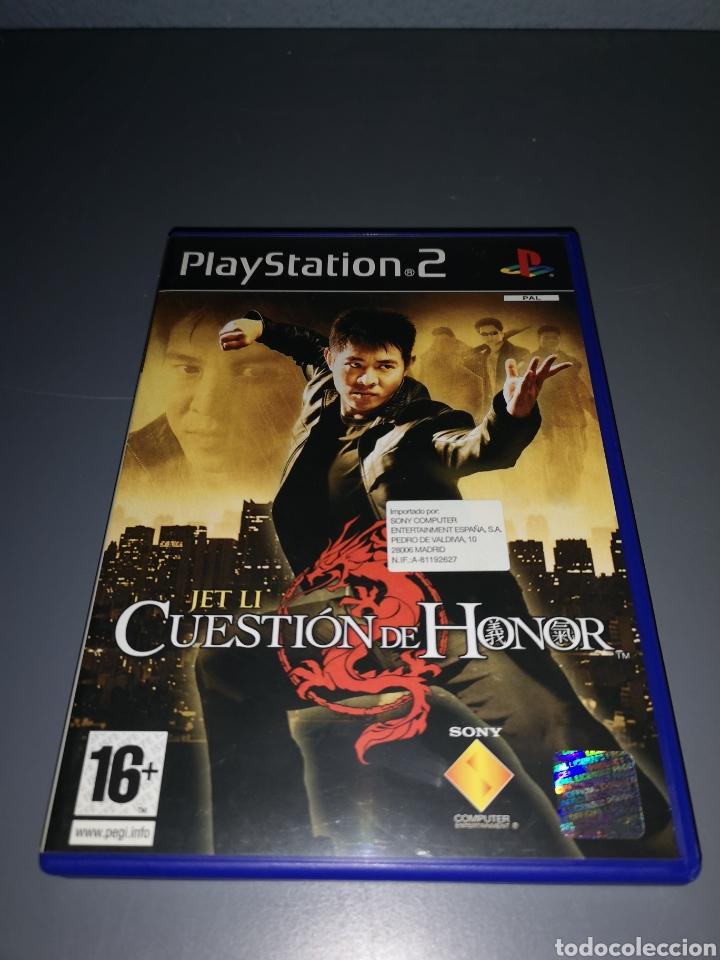 XA4. JUEGO PLAYSTATION 2. CUESTION DE HONOR. JET LI (Juguetes - Videojuegos y Consolas - Sony - PS2)