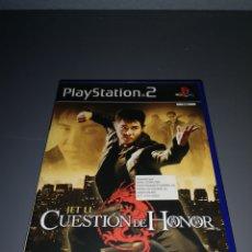 Videojuegos y Consolas: XA4. JUEGO PLAYSTATION 2. CUESTION DE HONOR. JET LI. Lote 234812085