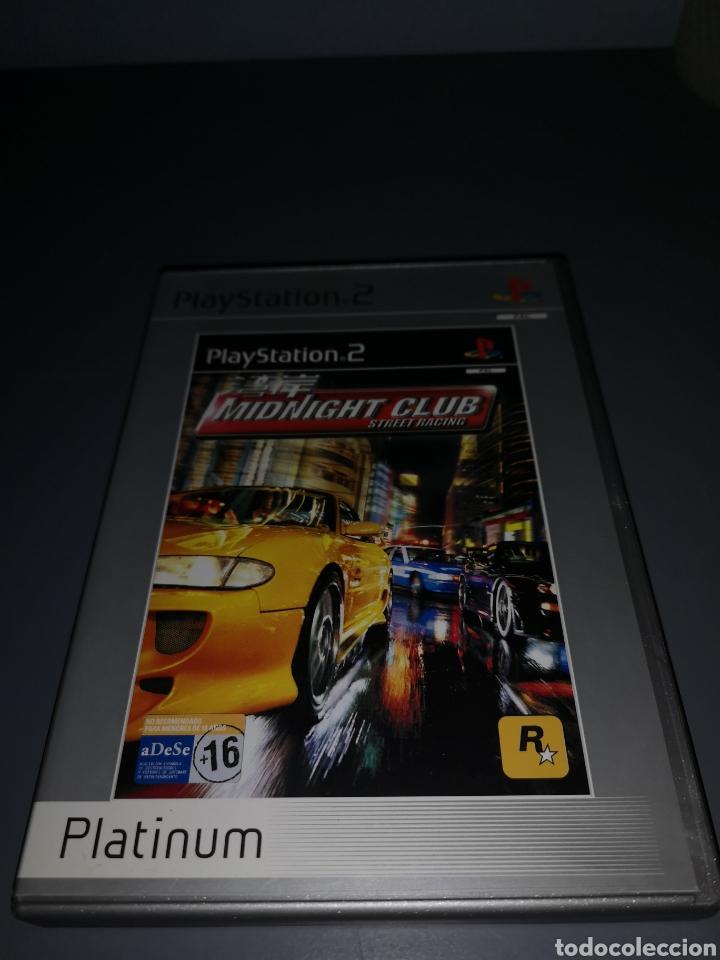 XA4. JUEGO PLAYSTATION 2. MIDNIGHT CLUB (Juguetes - Videojuegos y Consolas - Sony - PS2)