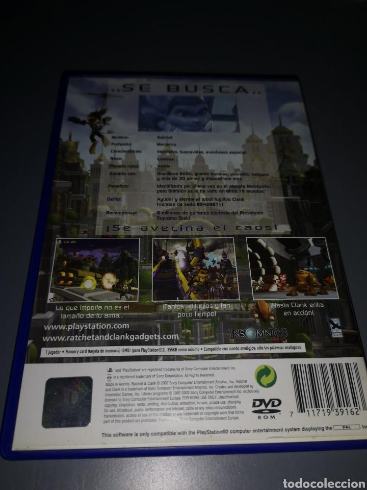 Videojuegos y Consolas: JUEGO PLAYSTATION 2 RATCHET CLANK - Foto 2 - 235029680