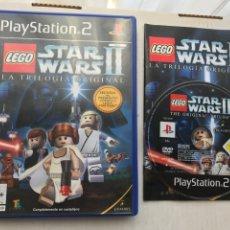 Videojuegos y Consolas: LEGO STARWARS II LA TRILOGIA ORIGINAL STAR WARS STARS WAR PS2 PLAYSTATION 2 PLAY STATION TWO KREATEN. Lote 235811470