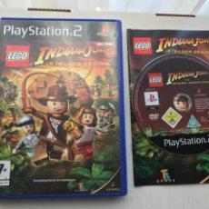 Videojuegos y Consolas: LEGO INDIANA JONES LA TRILOGIA ORIGINAL PS2 PLAYSTATION 2 PLAY STATION TWO KREATEN. Lote 235812240