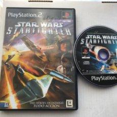 Videojuegos y Consolas: STARWARS STARFIGHTER STAR WARS WAR STARS FIGHTER PS2 PLAYSTATION 2 PLAY STATION TWO KREATEN. Lote 235814955