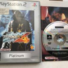 Videojuegos y Consolas: TEKKEN 4 PLATINUM PS2 PLAYSTATION 2 PLAY STATION TWO KREATEN. Lote 235815600
