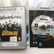 Videojuegos y Consolas: THE GETAWAY GET AWAY PLATINUM PS2 PLAYSTATION 2 PLAY STATION TWO KREATEN. Lote 235816960