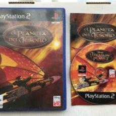 Videojuegos y Consolas: EL PLANETA DEL TESORO PS2 PLAYSTATION 2 PLAY STATION TWO KREATEN. Lote 235818135