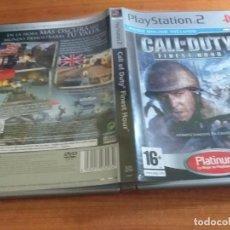 Videojuegos y Consolas: CALL OF DUTY FINEST HOUR PAL ESP PS2. Lote 236052385