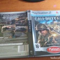 Videojuegos y Consolas: CALL OF DUTY 3 PS2 PAL ESP. Lote 236052550