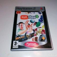 Videojuegos y Consolas: SONY PLAYSTATION 2 PS2 EYE TOY PLAY 2. Lote 237024020
