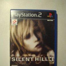 Videojuegos y Consolas: SILENT HILL 3 ( PS2 - PLAYSTATION 2 - PAL - ESPAÑA) COMPLETO. Lote 237030160