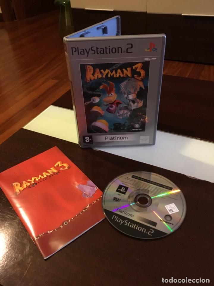 VIDEOJUEGO RAYMAN 3 PLATINUM PLAY STATION 2 EXCELENTE ESTADO (Juguetes - Videojuegos y Consolas - Sony - PS2)