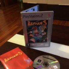 Videojuegos y Consolas: VIDEOJUEGO RAYMAN 3 PLATINUM PLAY STATION 2 EXCELENTE ESTADO. Lote 238728260