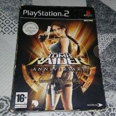 Videojuegos y Consolas: TOMB RAIDER ANNIVERSARY EDICION COLECCIONISTA PAL ESPAÑA PS2. Lote 238760140