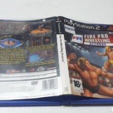 Videojuegos y Consolas: DIFÍCIL JUEGO FIRE PRO WRESTLING RETURNS PLAYSTATION 2 PS2 LEER DESCRIPCION. Lote 239695630