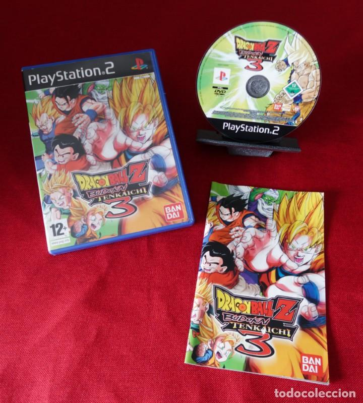 "RESERVADO!JUEGO PAL PARA PLAYSTATION 2. DRAGON BALL Z 3"" BUDOKAI TENKAICHI 3"" (Juguetes - Videojuegos y Consolas - Sony - PS2)"