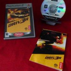 Videojuegos y Consolas: JUEGO PAL PARA PLAYSTATION 2. DRIVER PLATINUM.. Lote 239772450