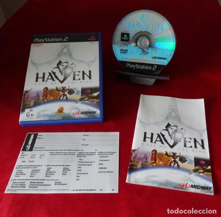 JUEGO PAL PARA PLAYSTATION 2. HAVEN: CALL OF THE KING. (Juguetes - Videojuegos y Consolas - Sony - PS2)