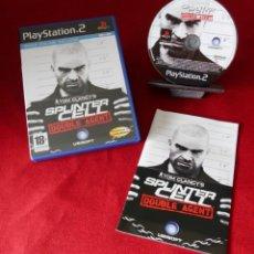 Videojuegos y Consolas: JUEGO PAL PARA PLAYSTATION 2. TOM CLANCY´S SPLINTER CELL.. Lote 239774925