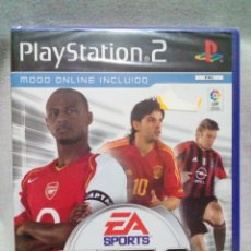Videojuegos y Consolas: PLAYSTATION 2-FIFA FOOTBALL 2005(NUEVO). Lote 240208245