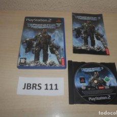Jeux Vidéo et Consoles: PS2 - TERMINATOR 3 THE REDEMPTION , PAL ESPAÑOL , COMPLETO. Lote 240531510
